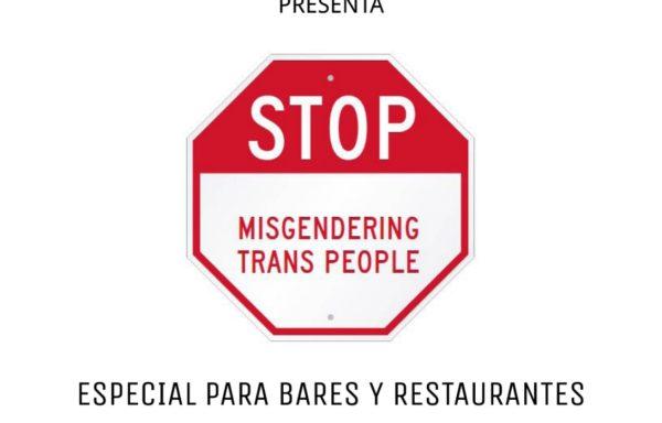 Guía Contra Misgendering en Bares